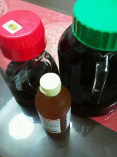 梅と赤紫蘇のジュース