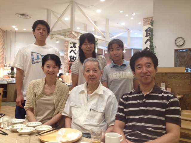 父の傘寿祝
